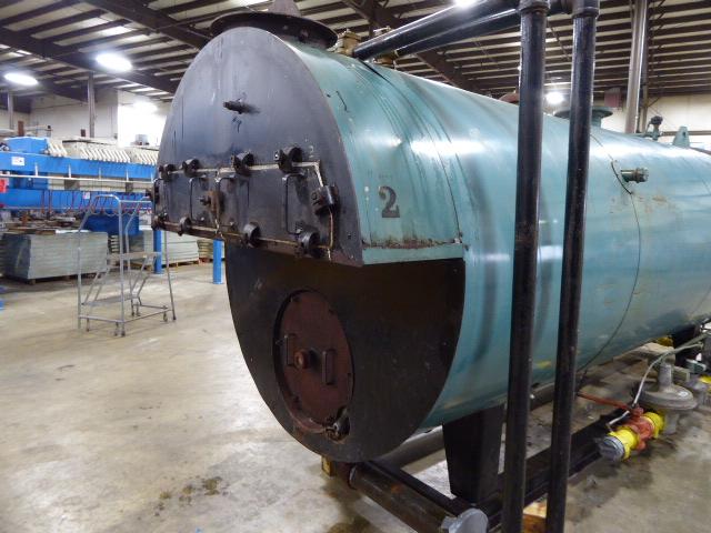 Used Boiler - Burnham 150 HP 6276000 BTU Natural Gas Boiler BL2029-Boilers