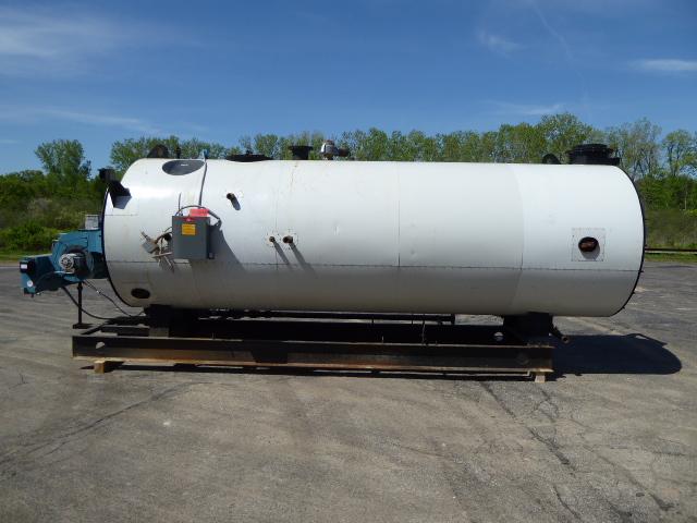 Used Boiler - Lattner 150 HP 6300 MBTU/HR Natural Gas Boiler-Boilers