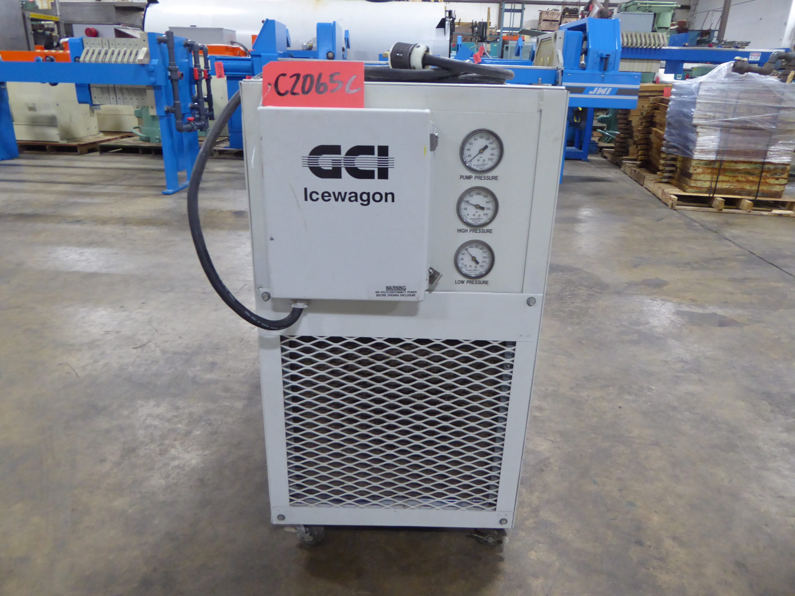 Used Chilling / Cooling Tower - Ice Wagon Portable Chiller C2065C-Chilling & Cooling Towers