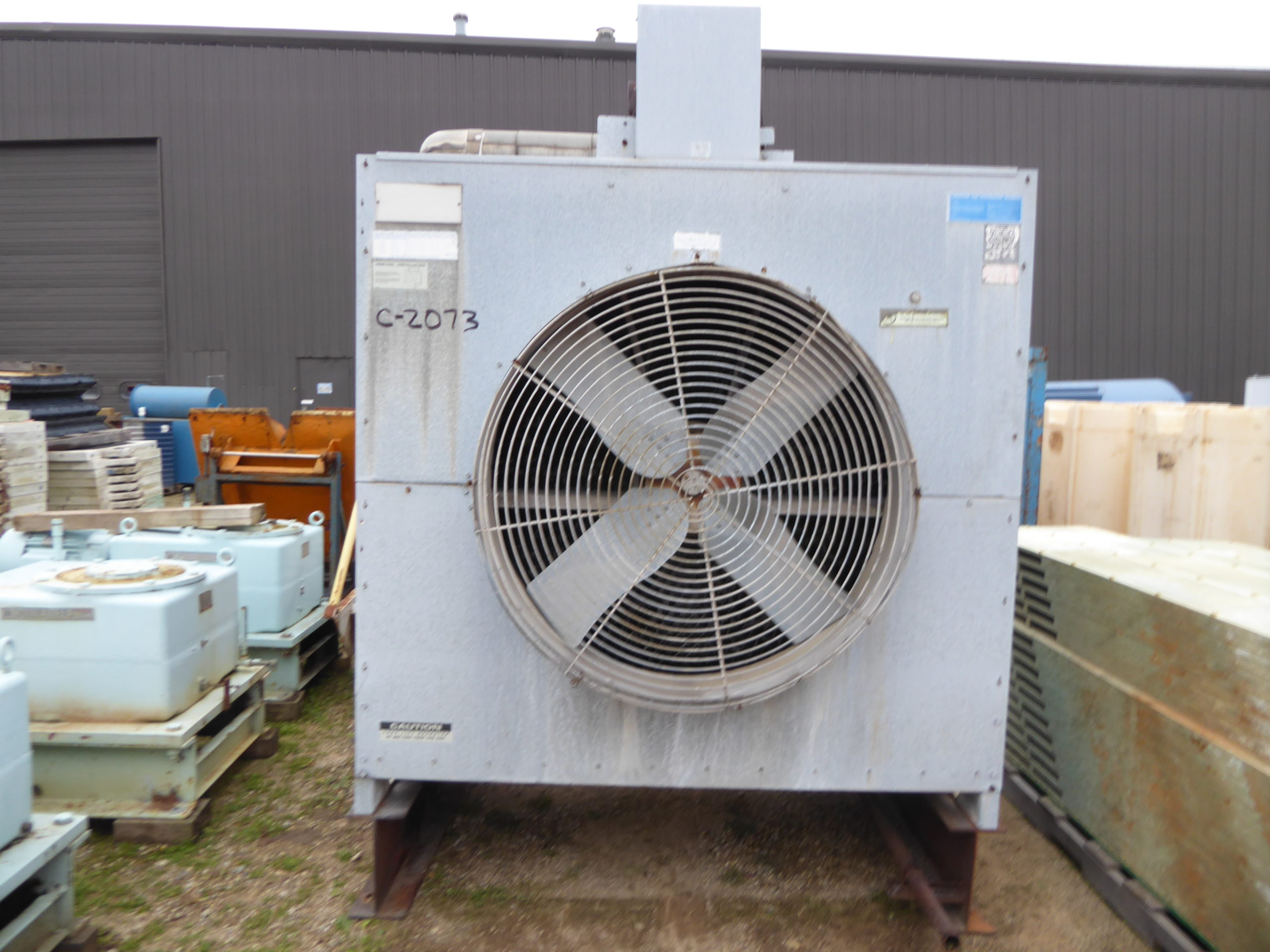 Used Chilling / Cooling Tower - Marley 60 Ton Cooling Tower C2073-Chilling & Cooling Towers