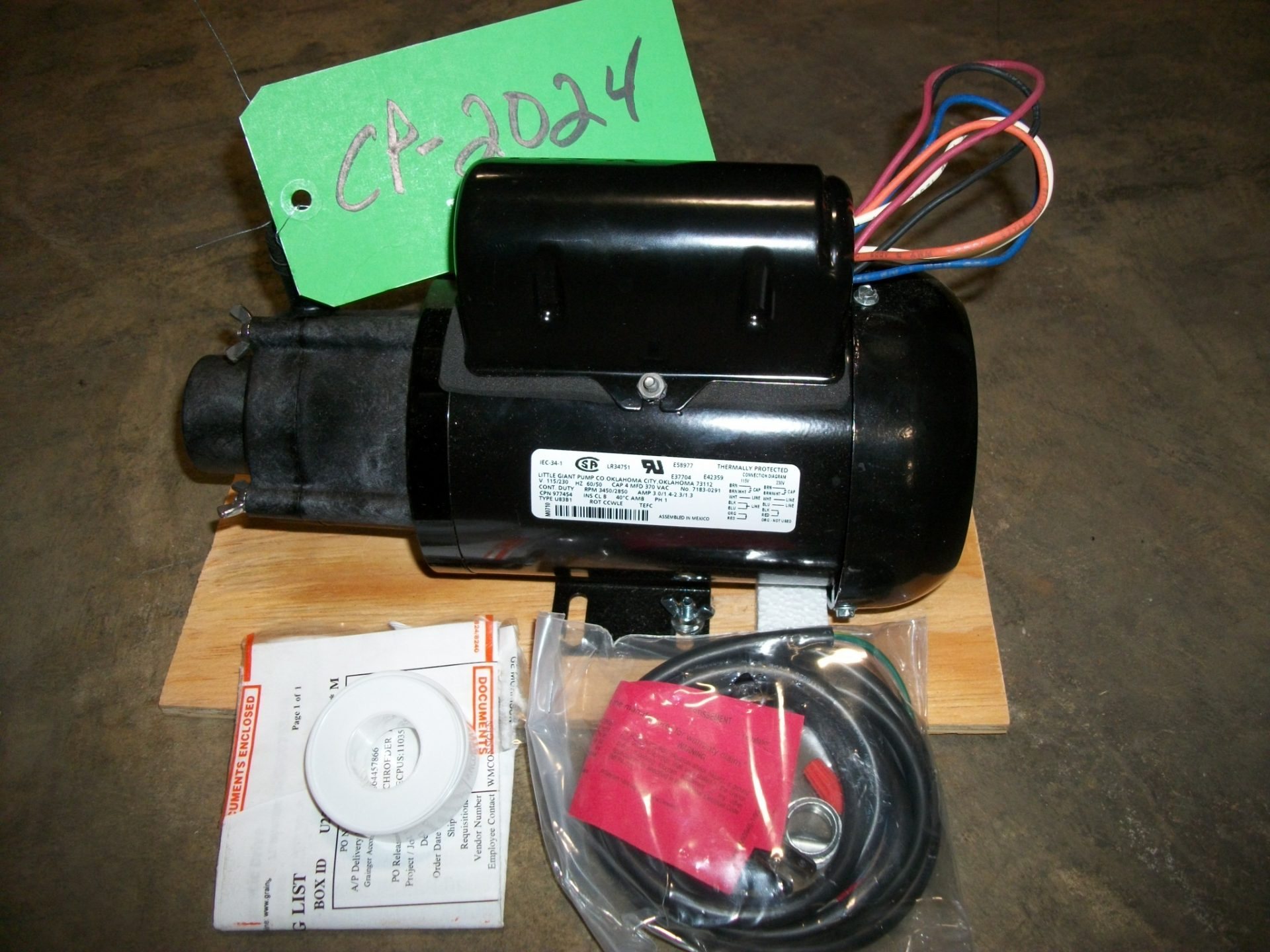New Centrifugal Pump - NEW Little Giant Outlet Centrifugal Pump-Pumps - Centrifugal