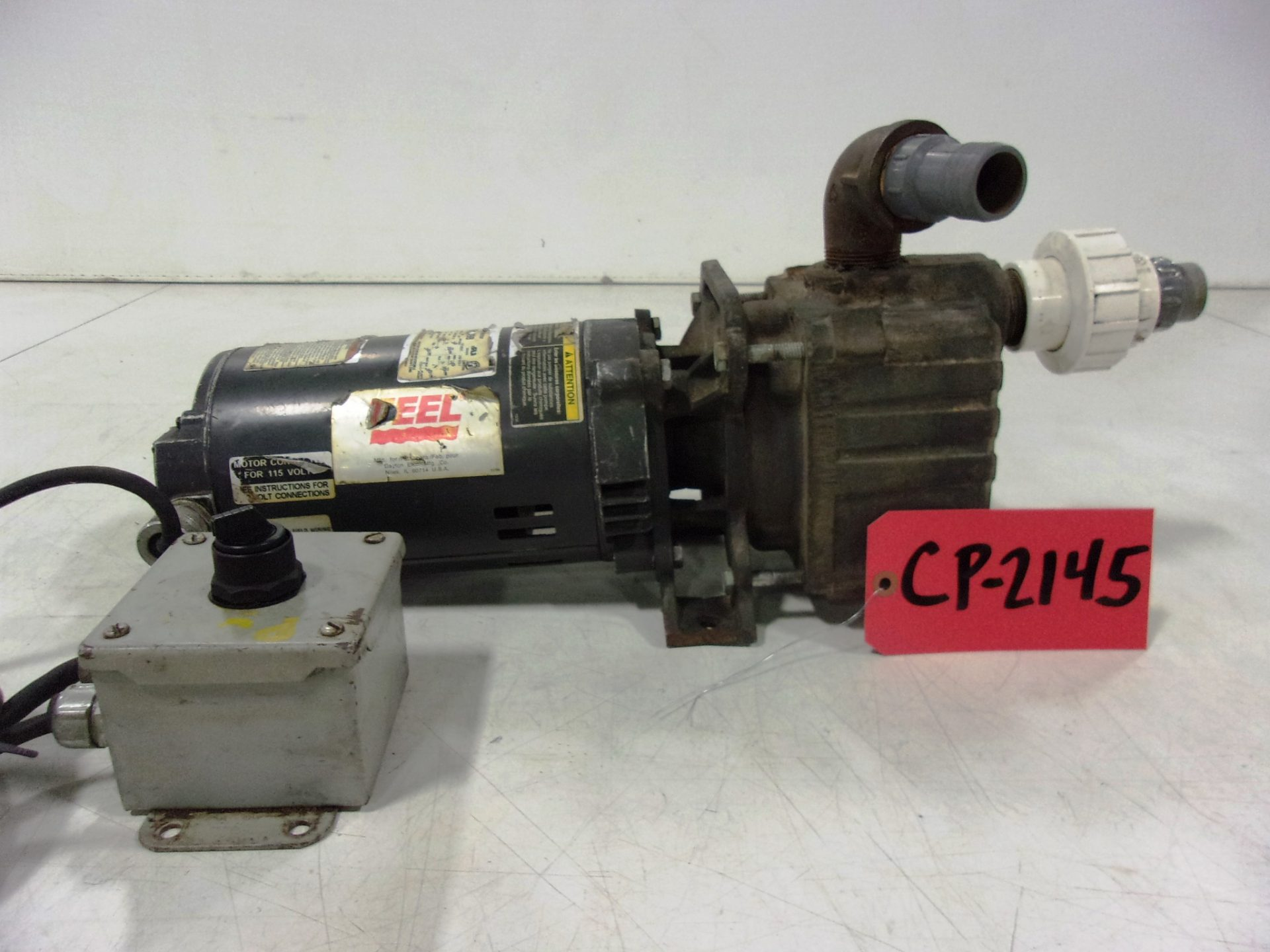 """Used Centrifugal Pump - TEEL 1/2 HP 1"""" Inlet 1"""" Outlet Centrifugal Pump-Pumps - Centrifugal"""