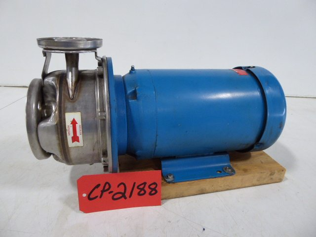 """Used Centrifugal Pump - Goulds 5 HP 2"""" Inlet 1"""" Outlet Centrifugal Pump-Pumps - Centrifugal"""