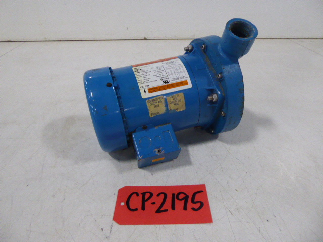 """Used Centrifugal Pump - Goulds .75 HP 1.5"""" Inlet 1.25""""Outlet Centrifugal Pump-Pumps - Centrifugal"""