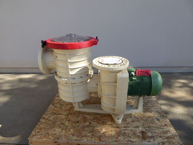 """Used Centrifugal Pump - Nozbart 15 HP 8"""" Inlet 8"""" Outlet Centrifugal Pump-Pumps - Centrifugal"""