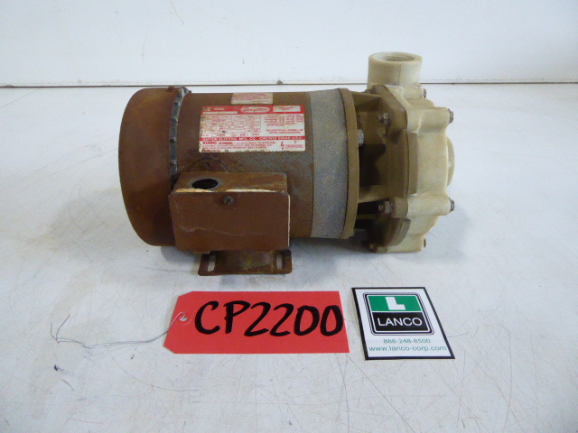"""Used Centrifugal Pump - Dayton 1 HP 1.5"""" Inlet 1.5"""" Outlet Centrifugal CP2200-Pumps - Centrifugal"""