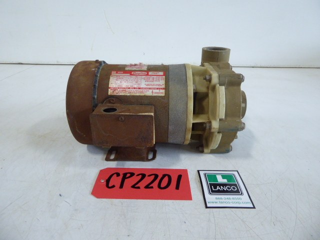 """Used Centrifugal Pump - Dayton 1 HP 1.5"""" Inlet 1.5"""" Outlet Centrifugal Pump CP2201-Pumps - Centrifugal"""