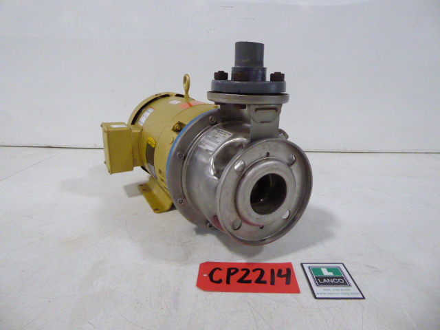 """Used Centrifugal Pump - Goulds 7.5 HP 2.5"""" Inlet 1.5""""Outlet Centrifugal Pump CP2214-Pumps - Centrifugal"""