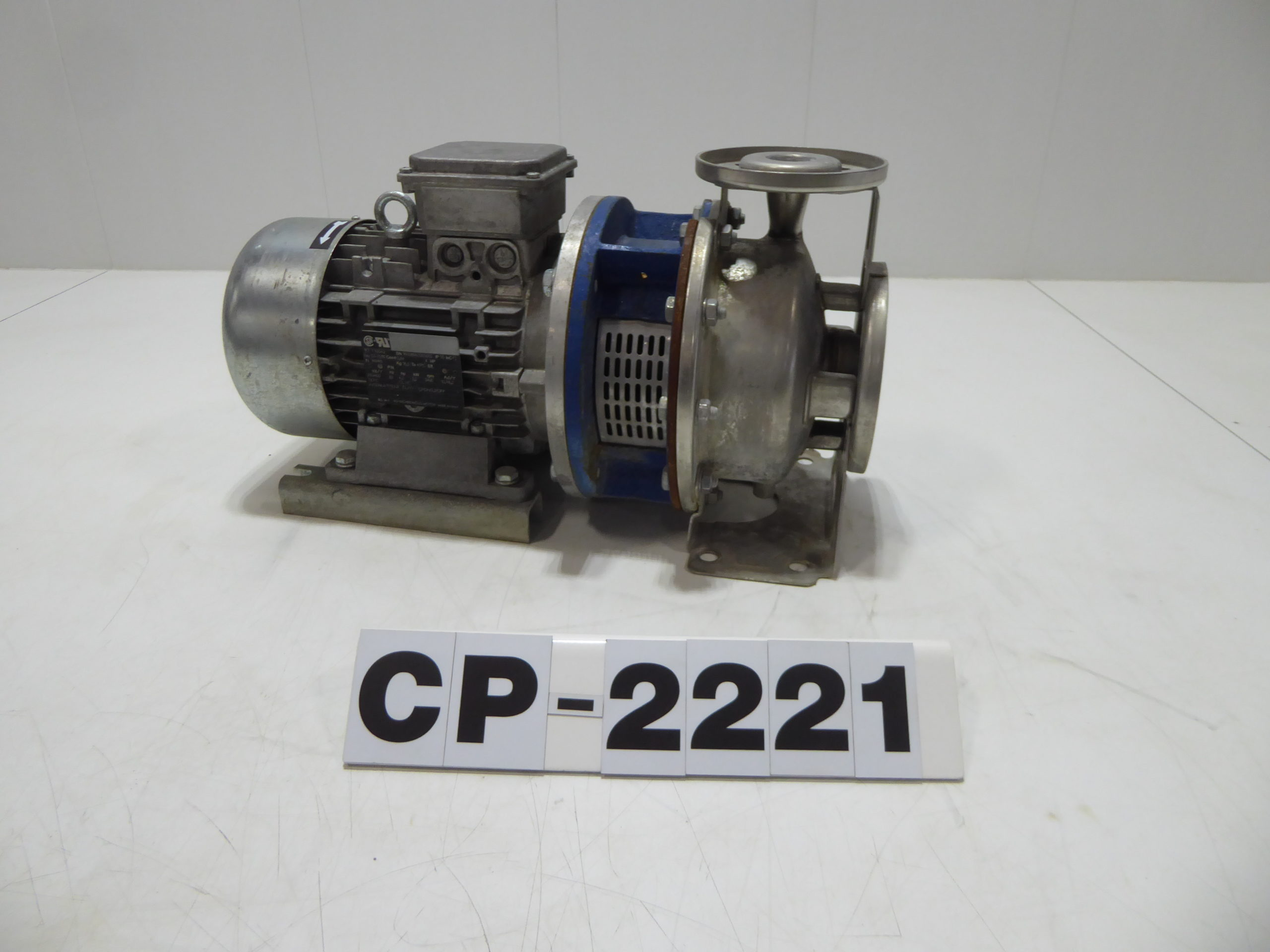 """Used Centrifugal Pump - Asynchronous 4 HP 2"""" Inlet 1""""Outlet Centrifugal CP2221-Pumps - Centrifugal"""