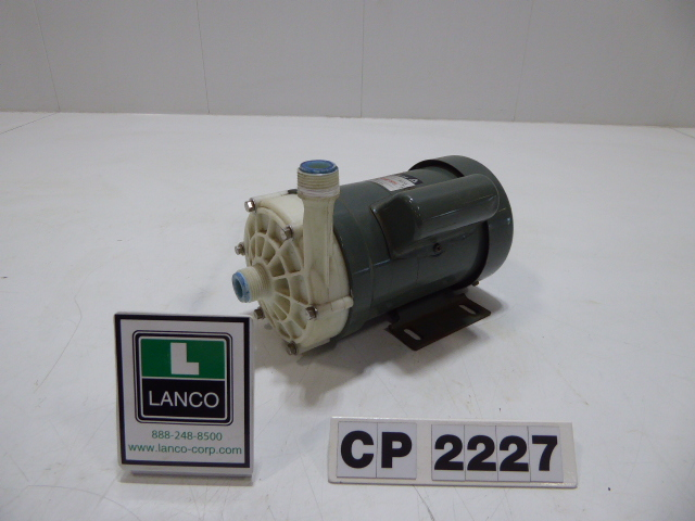"""Used Centrifugal Pump - Iwaki .5"""" Inlet .5"""" Outlet Centrifugal Pump CP2227-Pumps - Centrifugal"""