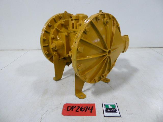 "Used Diaphgram Pump - Sandpiper Stainless Steel 1.5"" Inlet 1.5"" Outlet Diaphragm Pump DP2674-Pumps - Diaphragm"