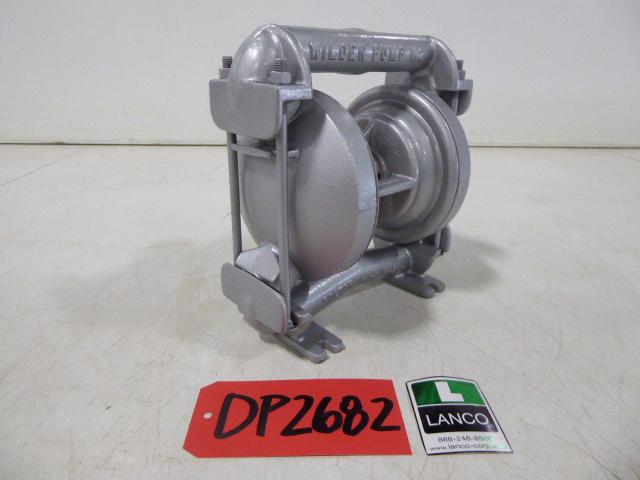 """Used Diaphgram Pump - Wilden SS .75"""" Inlet 1"""" Outlet Diaphragm Pump DP2682-Pumps - Diaphragm"""