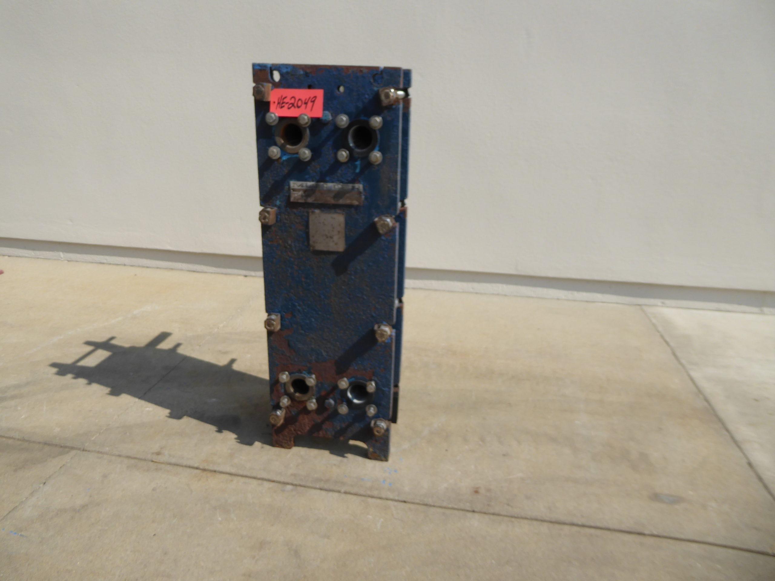Used Heat Exchanger - Mueller 316 Stainless Steel Heat Exchanger HE2049-Heat Exchangers