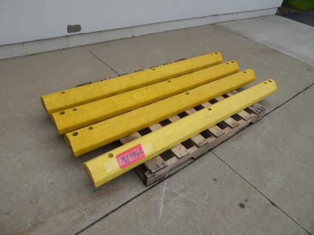 Used - Industrial Plastic Parking Blocks 1 Lot of 4 Pcs-Misc. Equipment