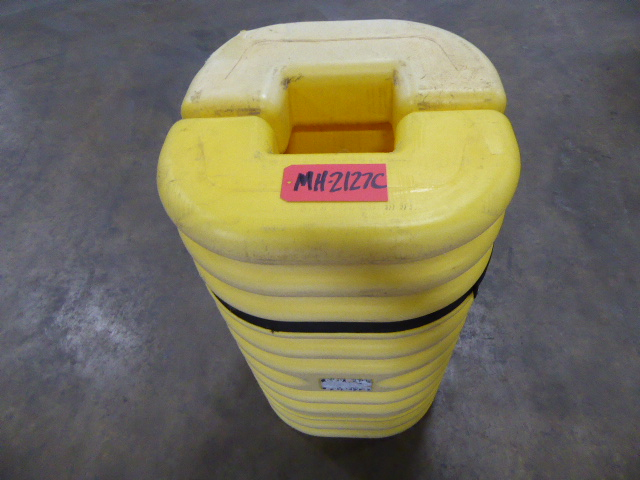 Used - Eagle Poly Column Protector Pair MH2127C-Material Handling