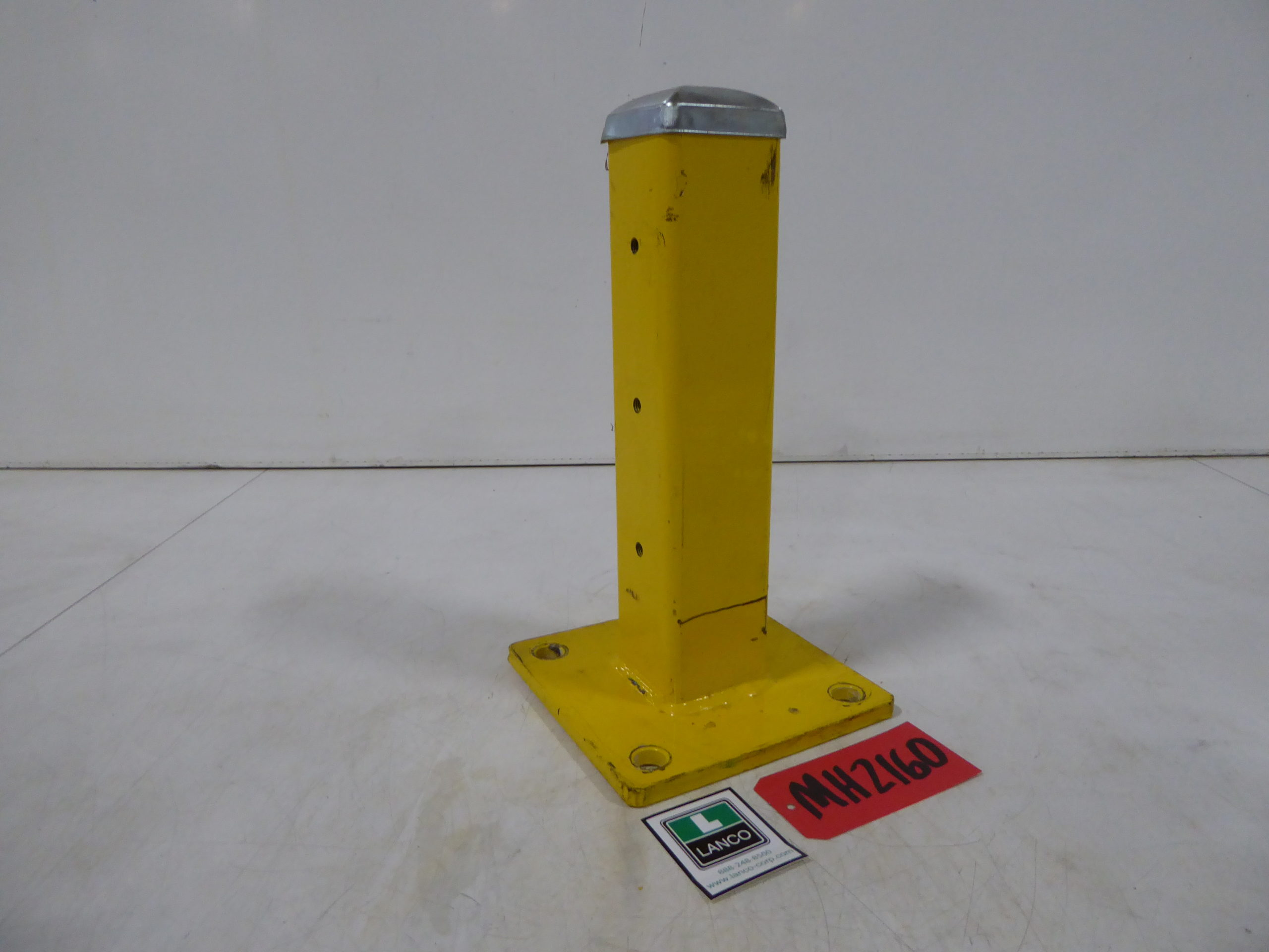"Used - Uline 19"" Single Guard Rail Post (1 Lot of 28 Pcs)-Material Handling"