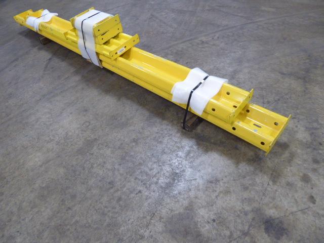 Used - Steel Guard Rails - 1 Lot of 7Pcs MH2167C-Material Handling