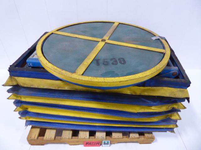 Used - Bishamon Self Leveling Pallet Carousel Positioner MH2214-Material Handling