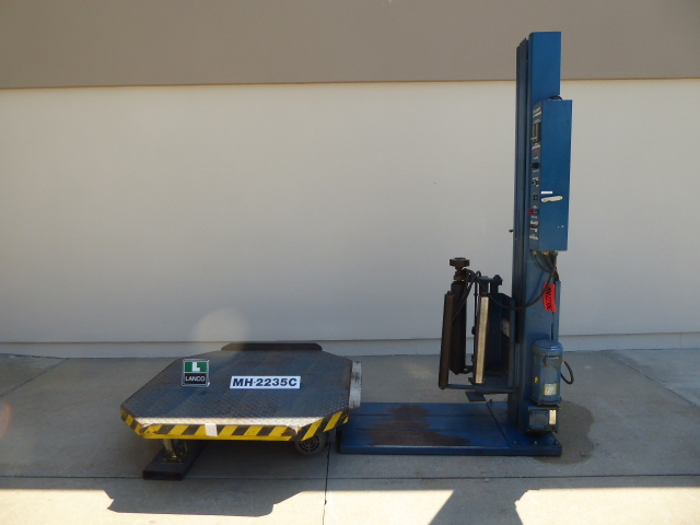 Used - Lan-tech High Profile Stretch Wrapper MH2235C-Material Handling