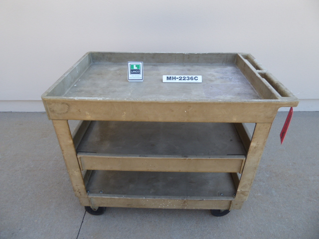 Used - Rubbermaid 4520 Service Cart MH2236C-Material Handling