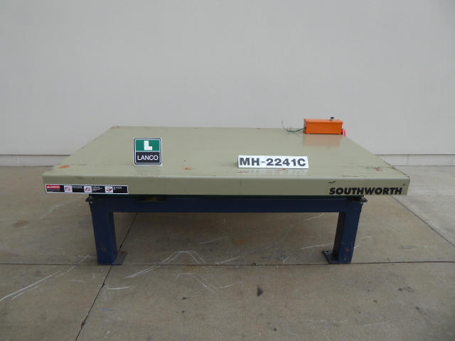 Used - Southworth Hydraulic Lift Table MH2241C-Material Handling