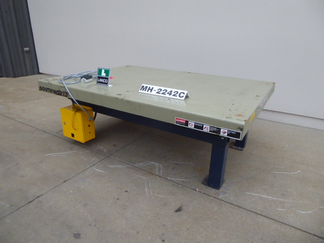 Used - Southworth Hydraulic Lift Table MH2242C-Material Handling