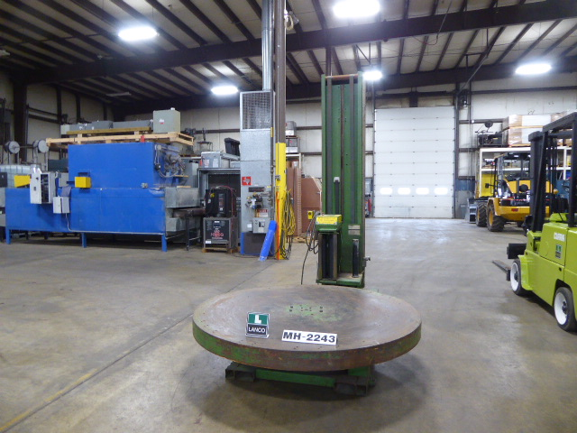 Used - Highlight Semi-Automatic Stretch Wrapper MH2243-Material Handling