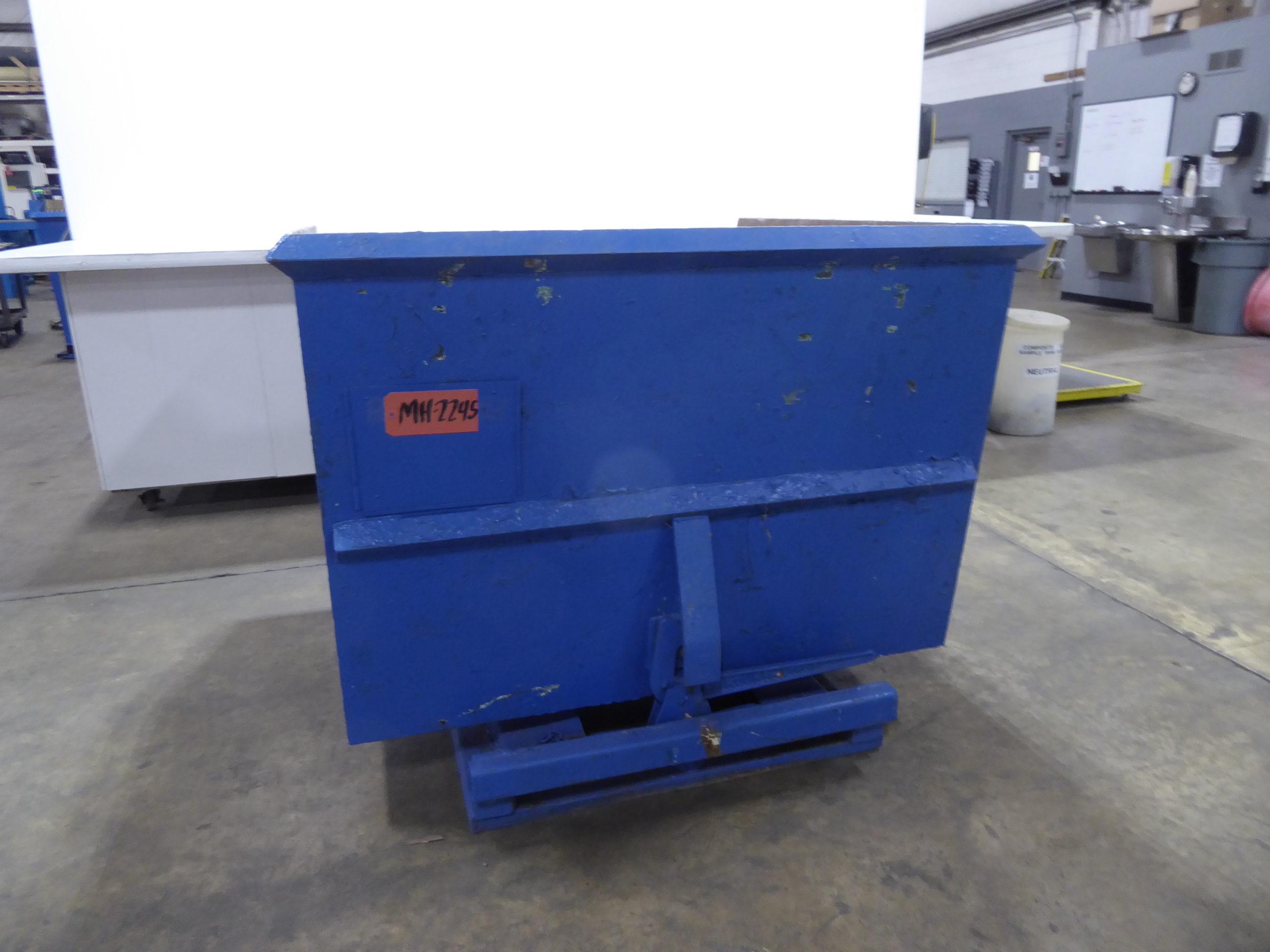 Used - Roura Detroit 6000 lb Capacity Self Dumping Hopper MH2245-Material Handling