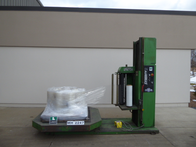Used - Highlight Synergy 3 Semi-Automatic Stretch Wrapper MH2247-Material Handling