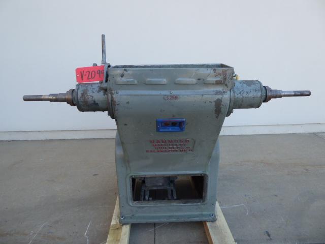 Used Vibratory / Polishing - Hammond Dual Head Single Motor Buffing Jack V2099-Vibrators, Tumblers, Polishing