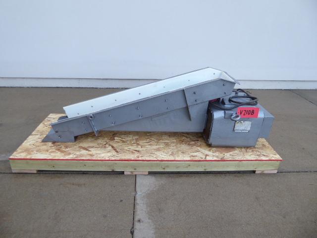 Used Vibratory / Polishing - Eriez Magnetics Vibratory Feeder V2108-Vibrators, Tumblers, Polishing