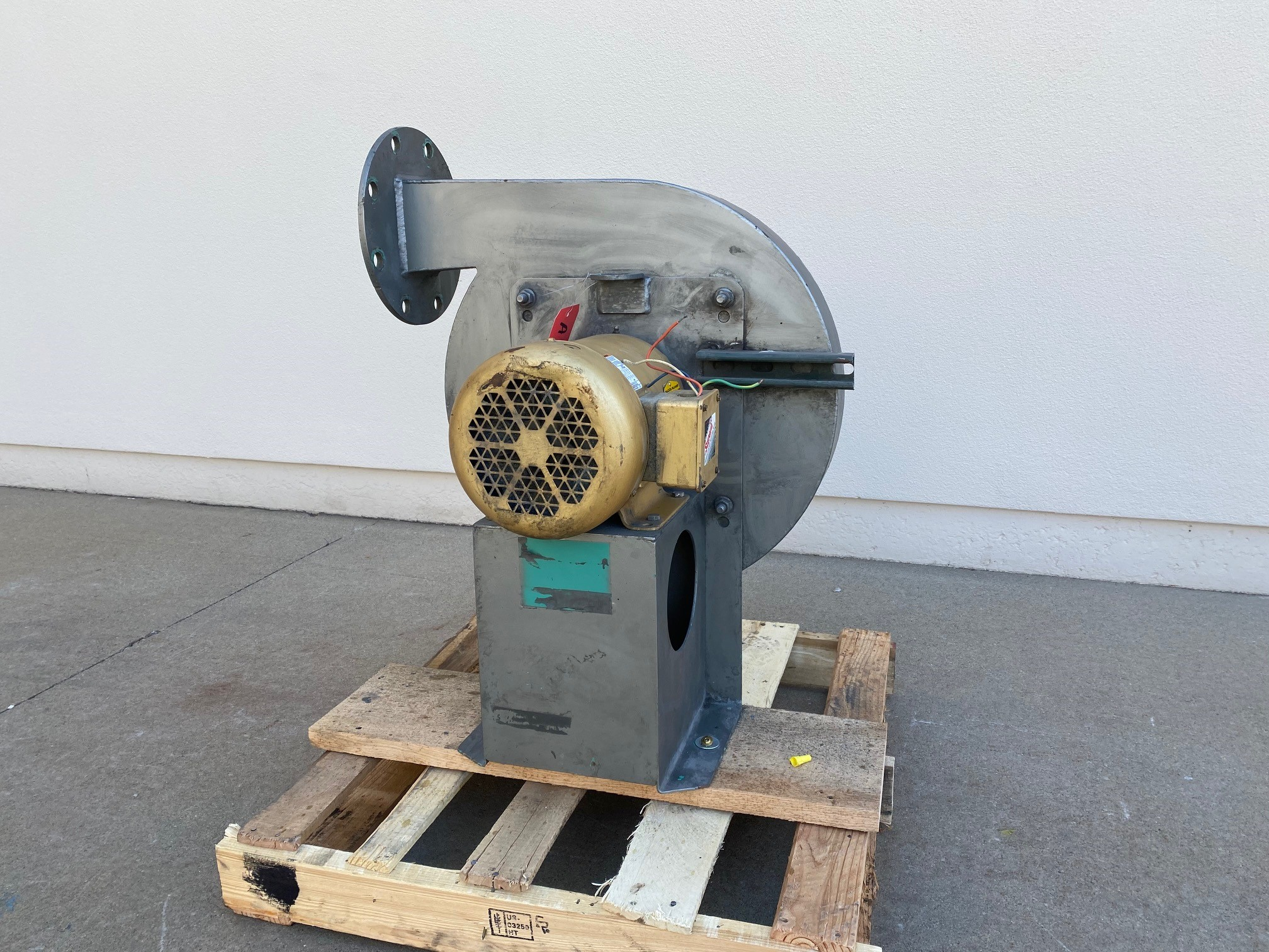 Used Air Knife Blower - New York Blower Style 3 HP Air Knife Blower AK2043-Blowers -Air Knife/Circulation
