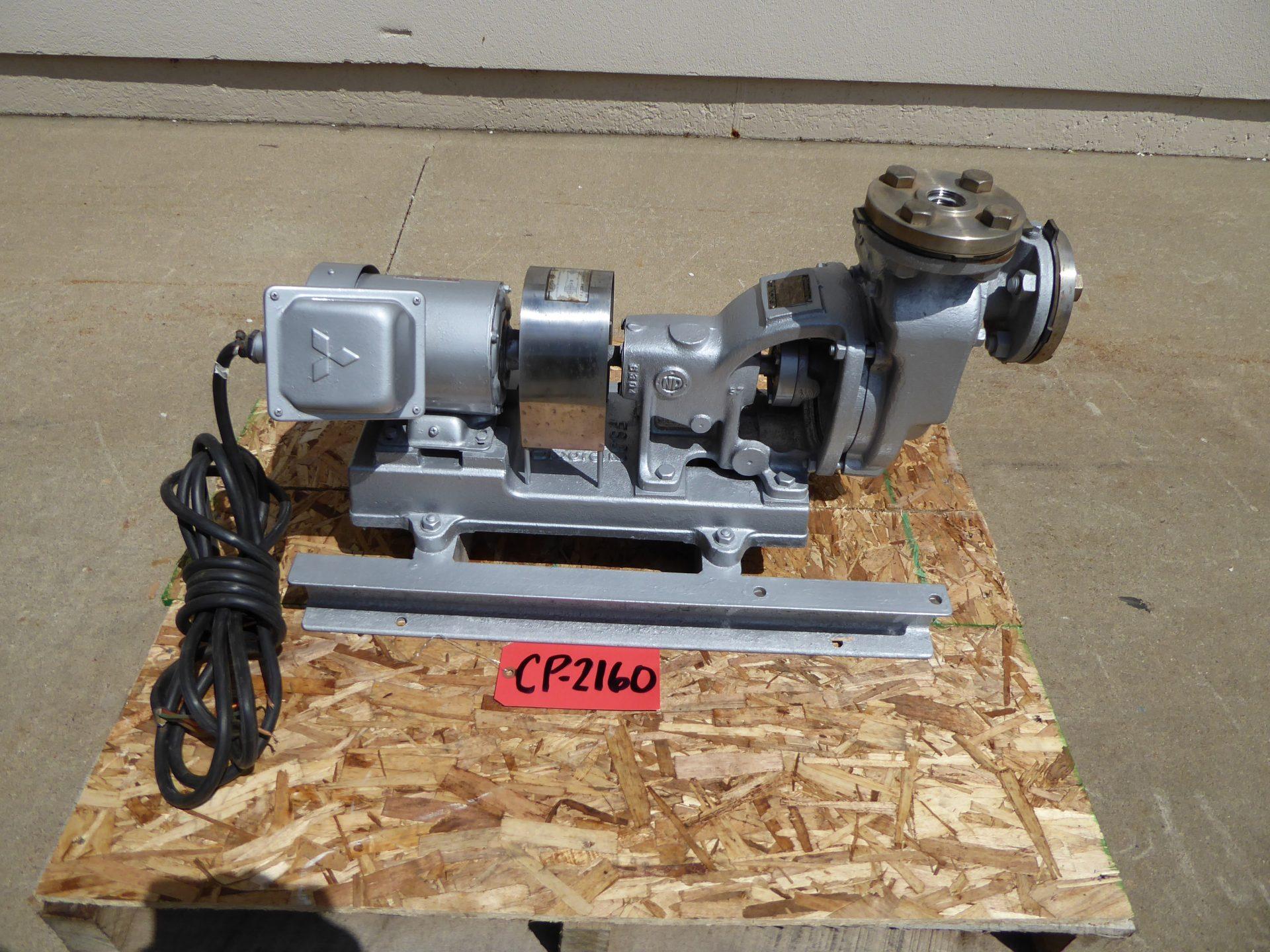 "Used Centrifugal Pump - Nishigaki Pump .5 HP 1"" Inlet 1"" Outlet Centrifugal Pump-Pumps - Centrifugal"