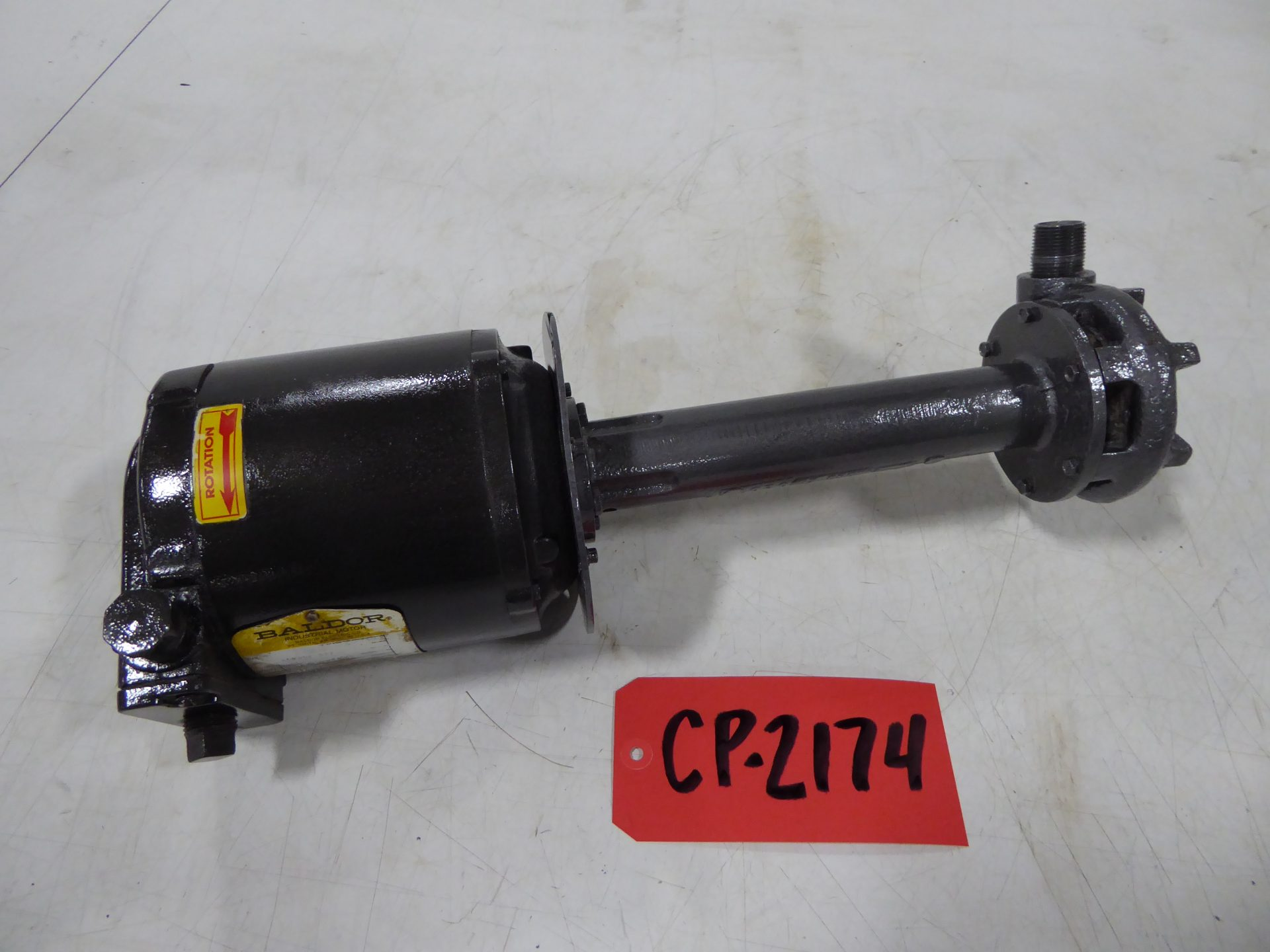 """Used Centrifugal Pump - Gusher Pumps .25 HP 1.5"""" Inlet.75 Outlet Centrifugal Pump-Pumps - Centrifugal"""