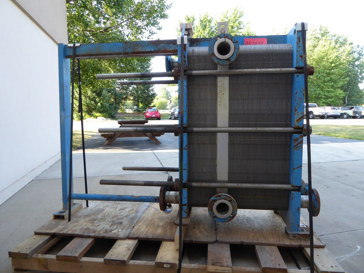 Used Heat Exchanger - APV Crepaco Stainless Steel Heat Exchanger-Heat Exchangers