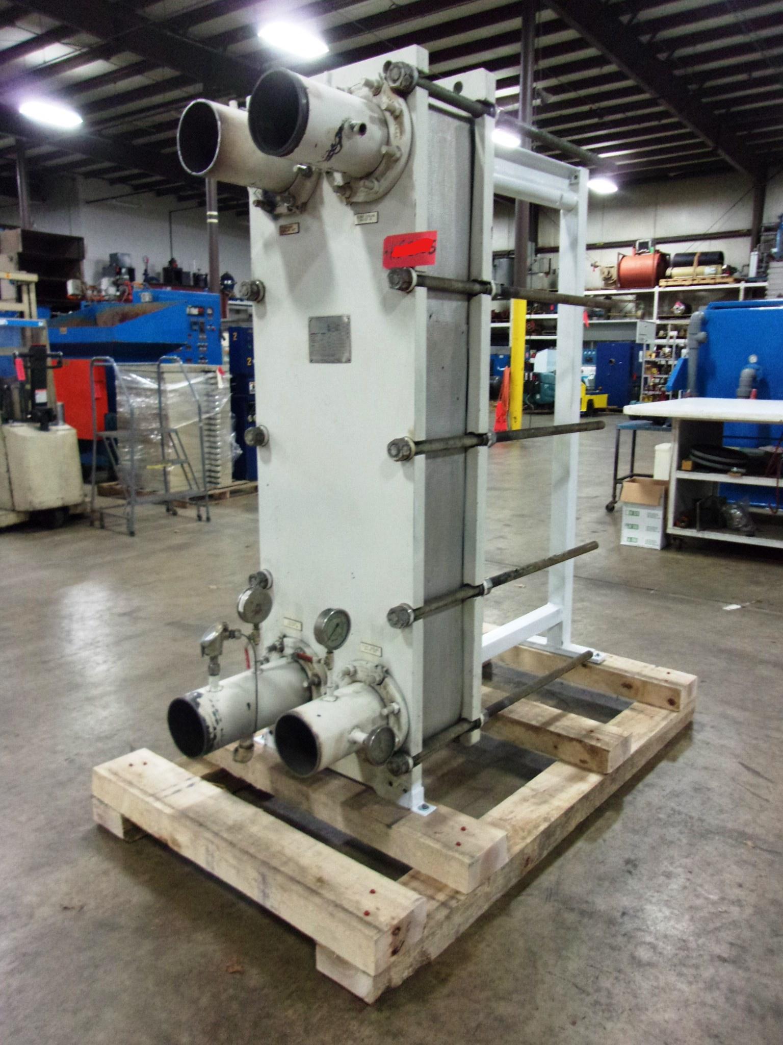 Used Heat Exchanger - API Stainless Steel Model STGM66 Heat Exchanger HE2055-Heat Exchangers