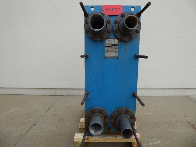 Used Heat Exchanger - Tranter Stainless Steel Model GCP-026N Heat Exchanger HC2057-Heat Exchangers