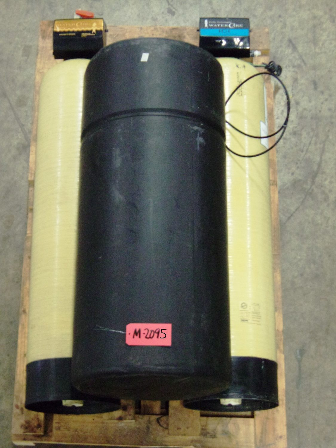 Used - Watercare Corp. RF-120/RF-C16 Water Softener/Carbon Filter-Misc. Equipment