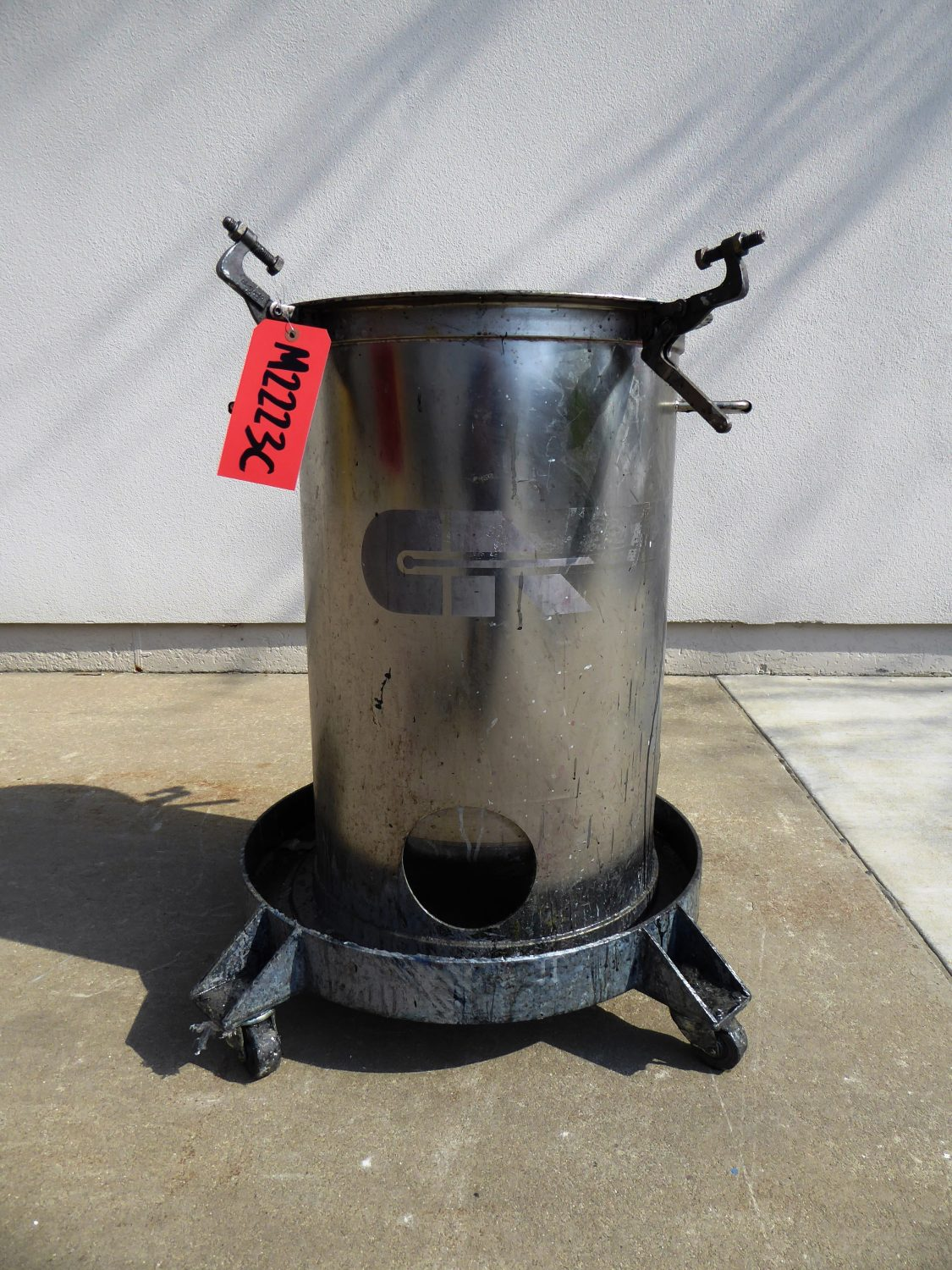 Used - Complete Automation Paint Pot- For Parts Only-Misc. Equipment