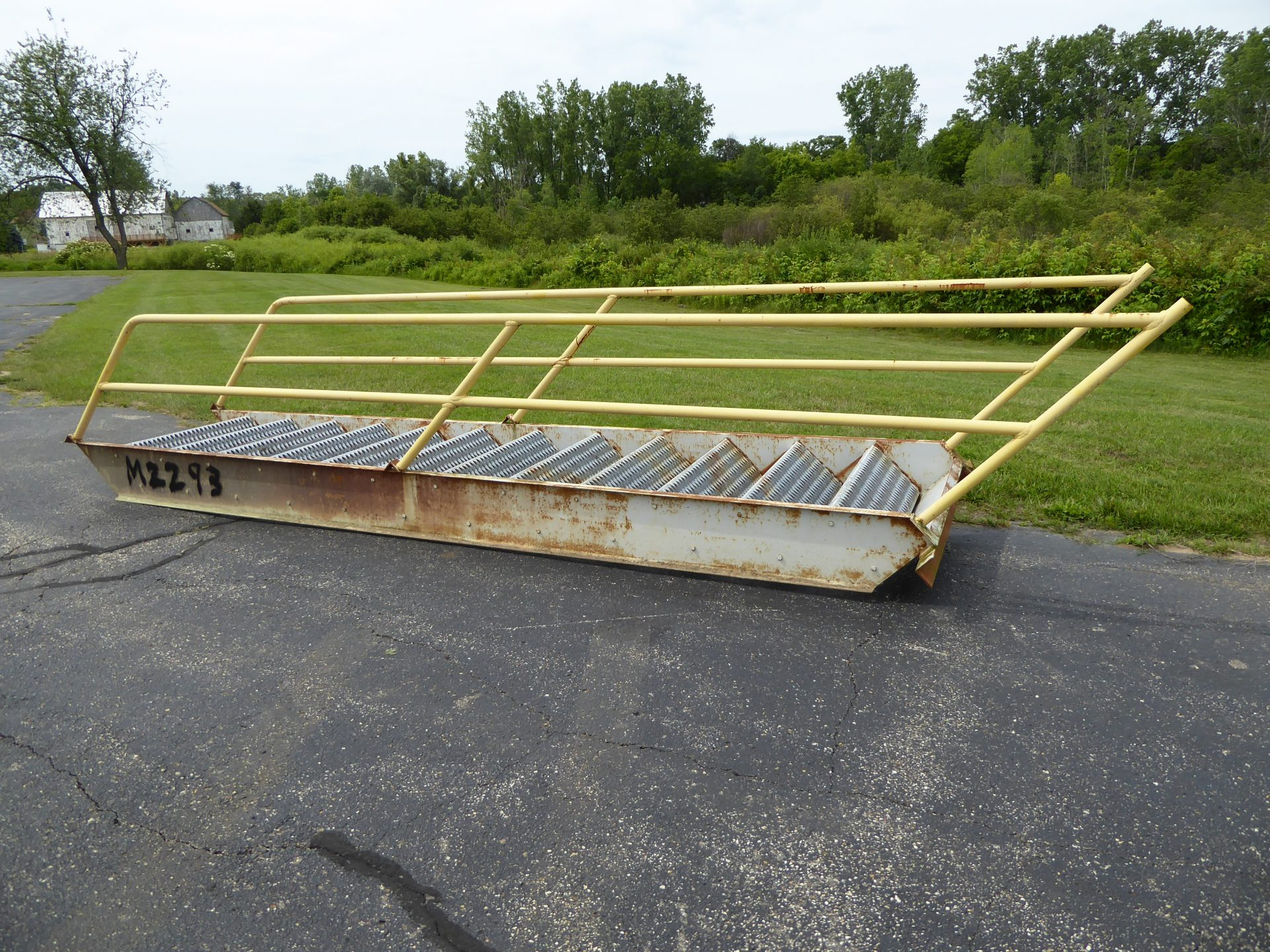 Used - 12 Step Stairs with Hand Rails-Misc. Equipment