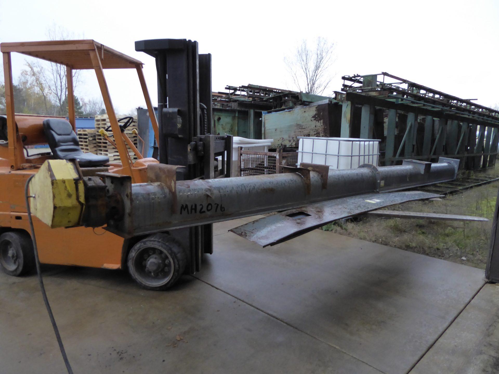 Used - Goodman Style Screw Conveyor-Material Handling