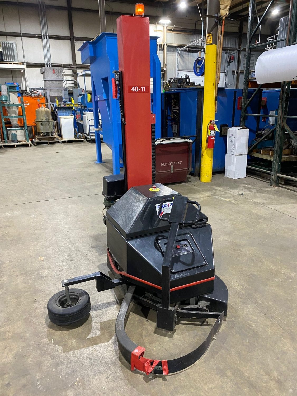 Used - Robopac 2001/PFS Robotic Stretch Wrapper MH2251-Material Handling