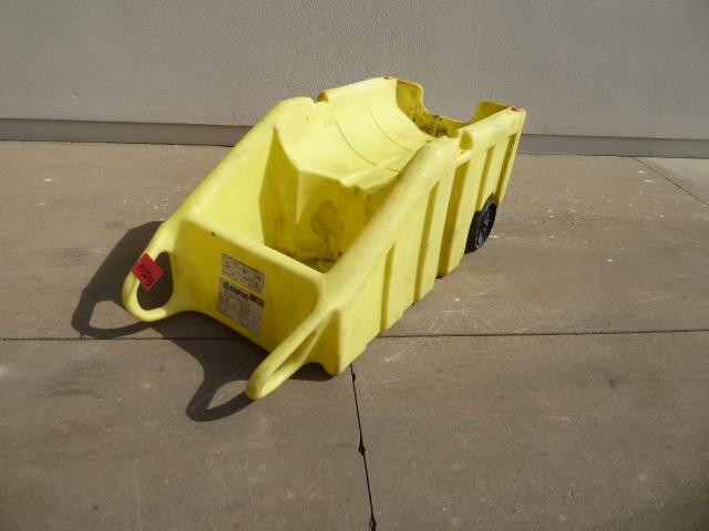 Used - Enpac 600 lb. Capacity Polly Dolly Barrel Dolly MH2253-Material Handling