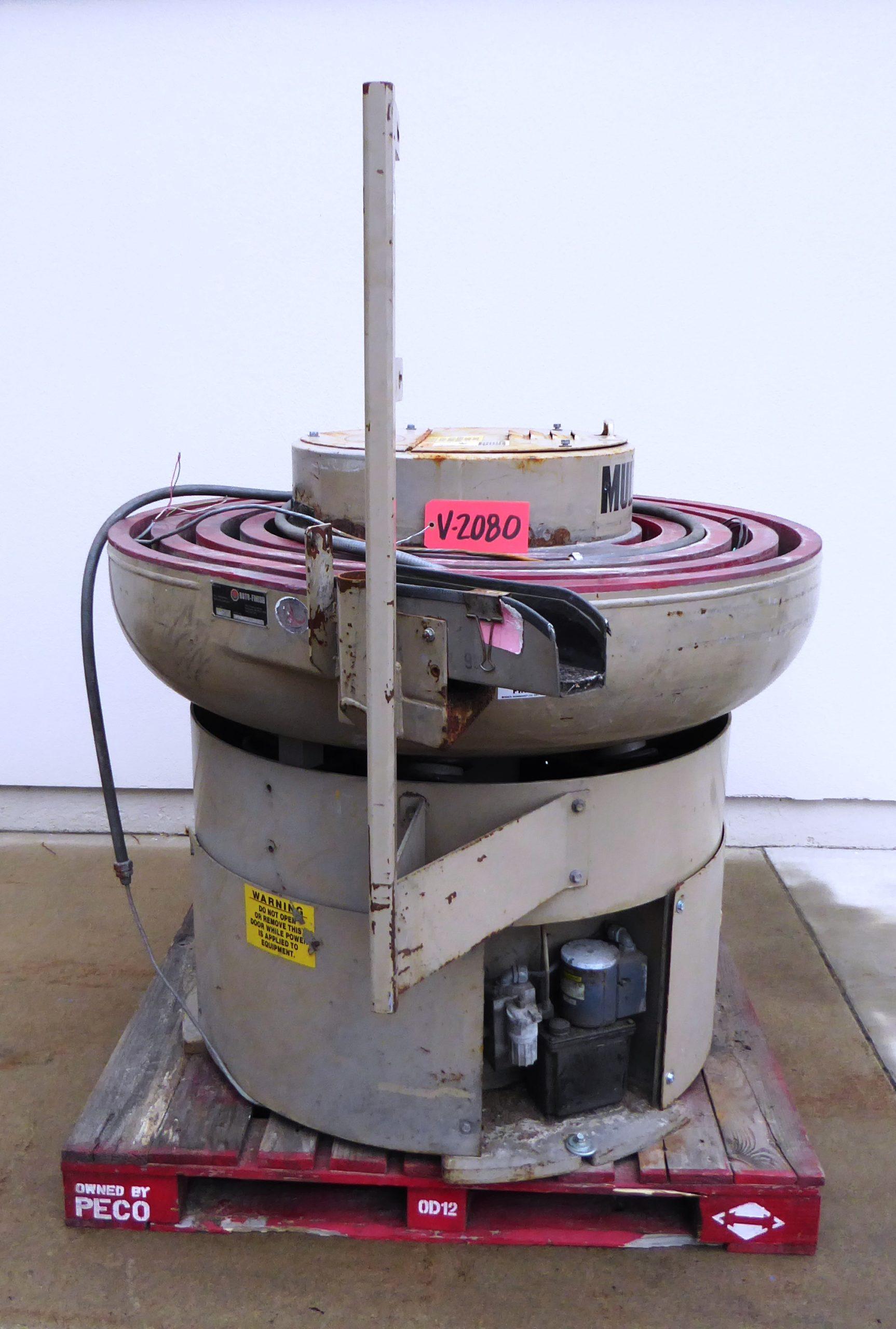 Used Vibratory / Polishing - Hammond Roto-Finish Model 5522 Multi-Pass Vibe Bowl-Vibrators, Tumblers, Polishing